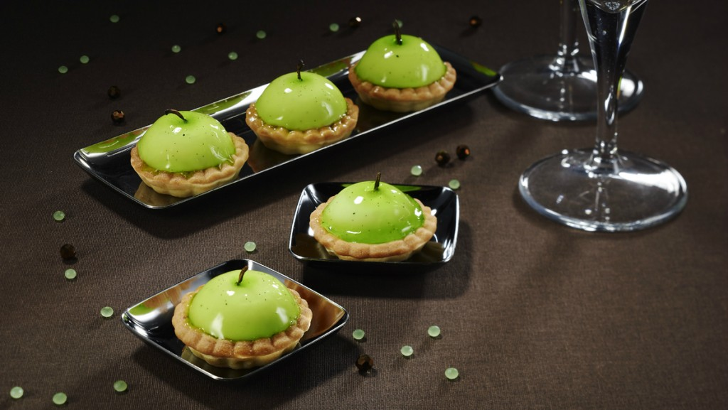 hachette mini patisserie tartelettes granny smith