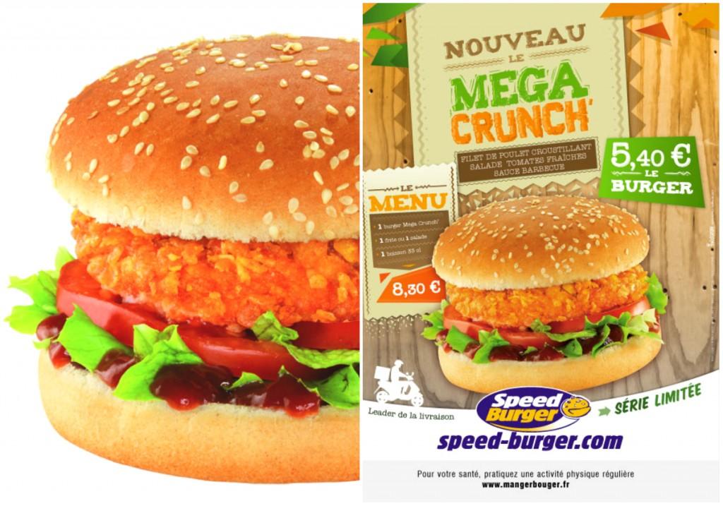 speed burger crunchy